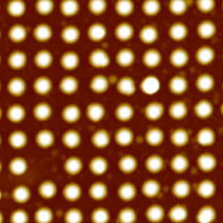 Magnetic patterned array